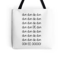 Doctor who Theme Tote Bag