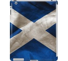 Scottish Flag iPad Case/Skin