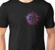 Supernatural Anti-Possession Galaxy Print Unisex T-Shirt