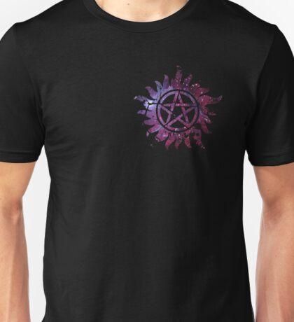 Supernatural Anti-Possession Galaxy Print Unisex T-Shirt