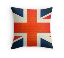 Union Jack Rule britannia Throw Pillow