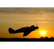 Hurricane Sunset Photographic Print