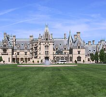 The Biltmore Estate Main House by Richard Harshaw