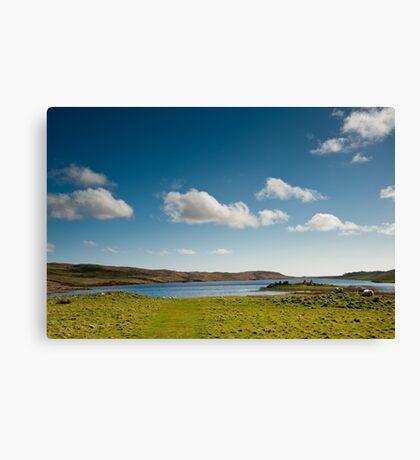 Eilean Mor Loch Finlaggan Canvas Print