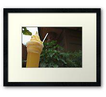 Dole whip #1 Framed Print