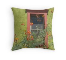 Paradise in the Barrio Throw Pillow