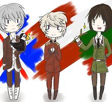 [APH] Iceland, Latvia, Bulgaria by chenxuuhan