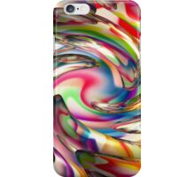 creative thought in the abstract mind iPhone Case/Skin