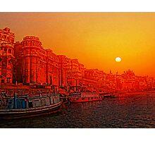 Varanasi, India. Photographic Print