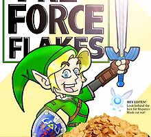 Tri-force Flakes by Jamonred