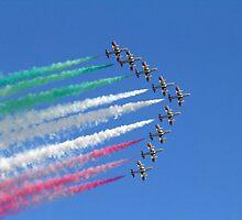 Italian _Frecce Tricolori_ by Vittorio Magaletti