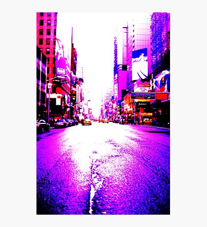 Broadway NYC Photographic Print