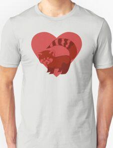 Love Red Pandas Unisex T-Shirt