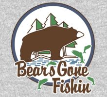 Bears Gone Fishing Kids Clothes