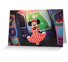 EPCOT: Minnie Greeting Card