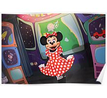EPCOT: Minnie Poster