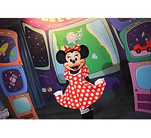 EPCOT: Minnie Photographic Print