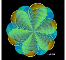 sdd Abstract Fractal 95L Photographic Print