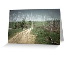 country roads.... Greeting Card