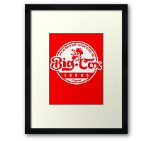 Big Cox farms Framed Print