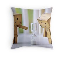 running out of time... Throw Pillow