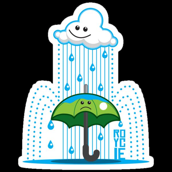 Rain Cloud Shirt by Ryan Yasutake