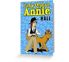 Little Orphan Annie Hall Greeting Card