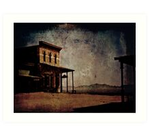 Cochise Stronghold From A Distance Art Print