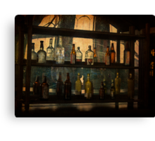 Behind the Bar Canvas Print