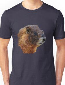 Marmot Portrait Unisex T-Shirt