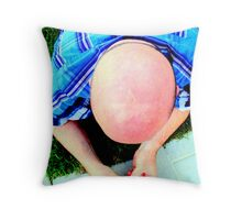 I am a star...and slightly stunned....lol Throw Pillow