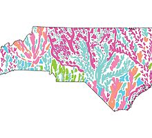 North Carolina Lilly Pilitzer by CraftyCreepers