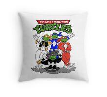 Mighty Morphin Turtles Pillow Throw Pillow