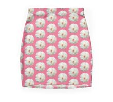 White Blossoms Mini Skirt