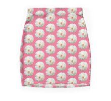 White Blossoms Mini Skirt