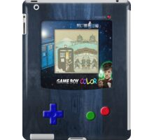 Space And Time traveller Gameboy special edition iPad Case/Skin