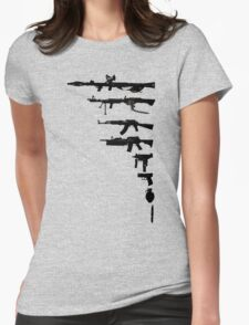 wEAPONs Womens Fitted T-Shirt