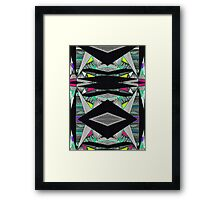 Fusion Explore  Framed Print