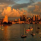 Silence Before The Storm#2 - Photographers Cut - Moods of A City , Sydney - The HDR Experience by Philip Johnson