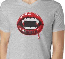 Vampire Sucker Mens V-Neck T-Shirt