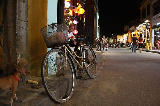 Bicycle View by Leonie Harris