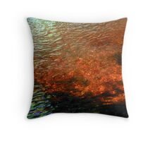 Water In Color Throw Pillow