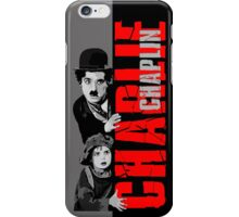 Charlie Chaplin with the kid sneak a peek iPhone Case/Skin