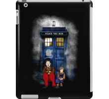 Charlie Chaplin with the kid waiting an Angel iPad Case/Skin
