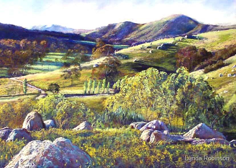 The Trawool Valley by Lynda Robinson
