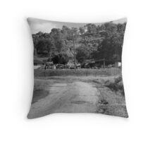 Queensland Country Throw Pillow