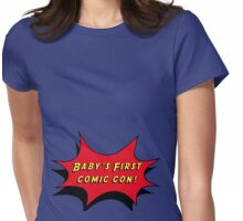 Baby's First Comic Con Womens Fitted T-Shirt