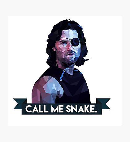 Snake Plissken Photographic Print