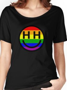 Happy Hippie Foundation Logo [Rainbow] Women's Relaxed Fit T-Shirt