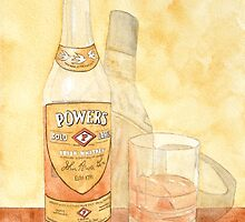 Powers Irish Whiskey by Ken Powers